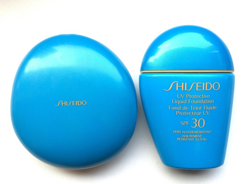 Shiseido UV Protective Foundation Sonnenmakeup