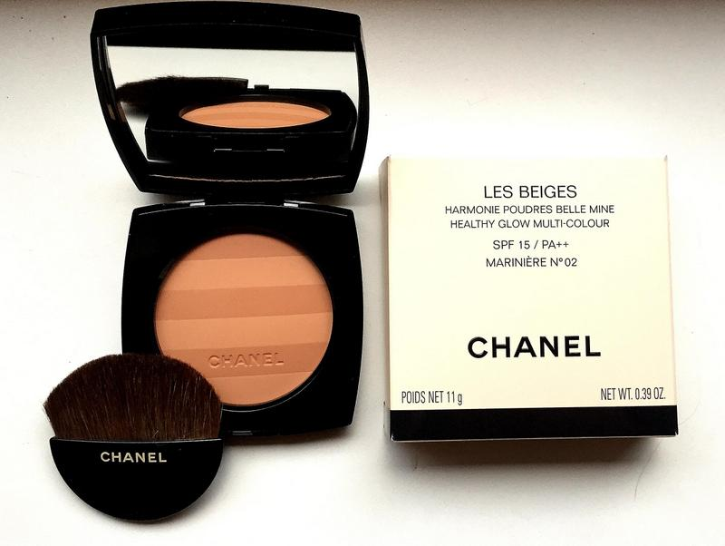 CHANEL Les Beiges Harmonie Poudres Belle Mine  Marinière No 2 - Highendlove