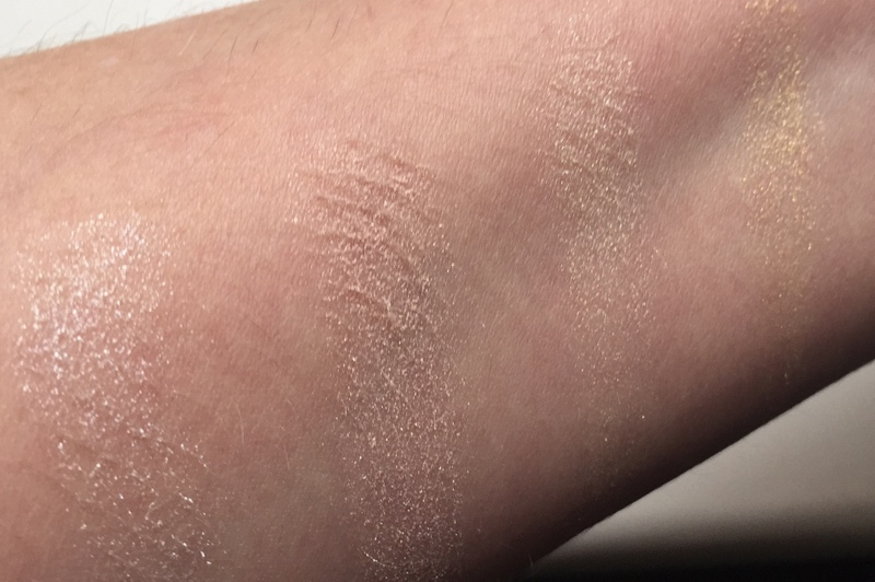 LAURA MERCIER Candleglow Luminizing Palette Swatches obere Reihe - Highendlove