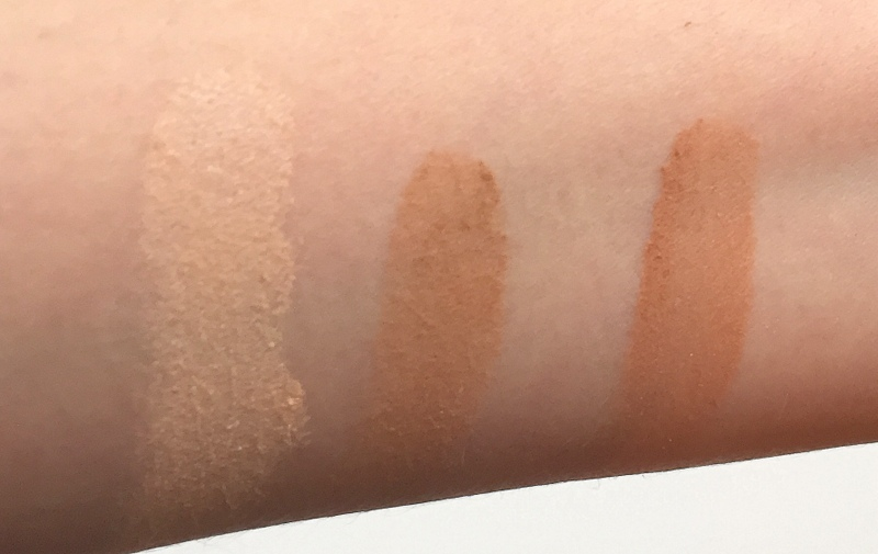 LAURA MERCIER Blush & Glow Radiant Face Trio Swatches - Highendlove