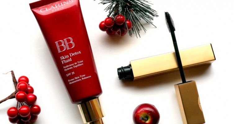 CLARINS BB Skin Detox Fluid & Be Long Mascara - Highendlove