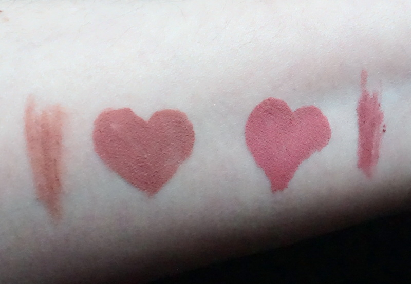 KYLIE Matte Liquid Lipstick & Lip Liner Swatches Candy K & Poesie K - Highendlove