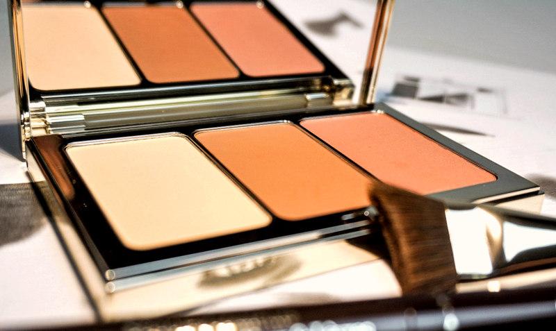 CLARINS Palette Contour Visage & Stylo 4 Couleurs - Highendlove