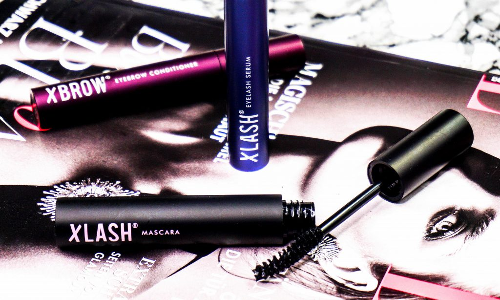XLASH Eyelash Wimpernserum & XBROW Augenbrauen Conditioner & Mascara - Highendlove