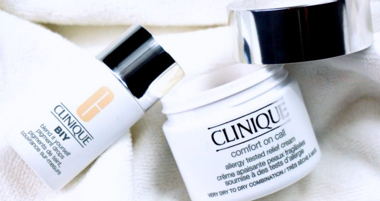 CLINIQUE BIY - Blend it yourself pigment drops & Comfort on Call Creme
