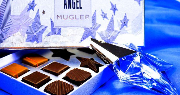THIERRY MUGLER Gewinnspiel Angel Parfum de Chocolat Pralinen & Eau de Parfum - Highendlove