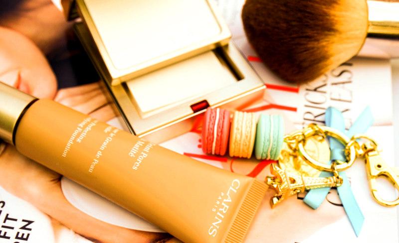 CLARINS Teint Pores & Matité Foundation & Kit Pores & Matité Powder - Highendlove