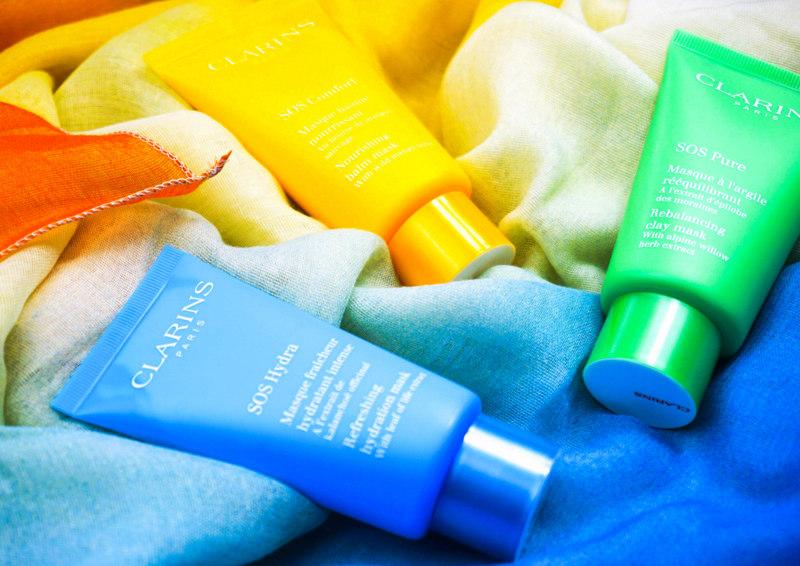 CLARINS SOS Masque Hydra & Comfort & Pure - Highendlove