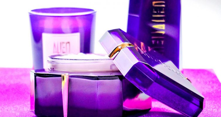 MUGLER Alien Body Cream / Scented Candle & Shower Milk - Highendlove
