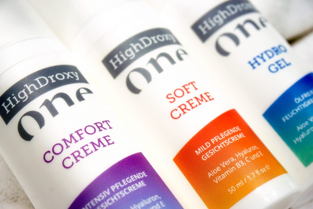 HIGHDROXY One Comfort & Softcreme & Hydro Gel - Highendlove