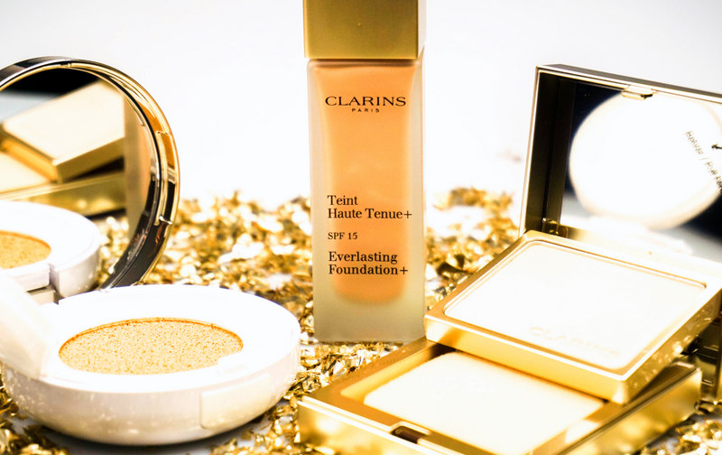 CLARINS Everlasting Compact / Cushion & Teint Haute Tenue Foundation - Highendlove