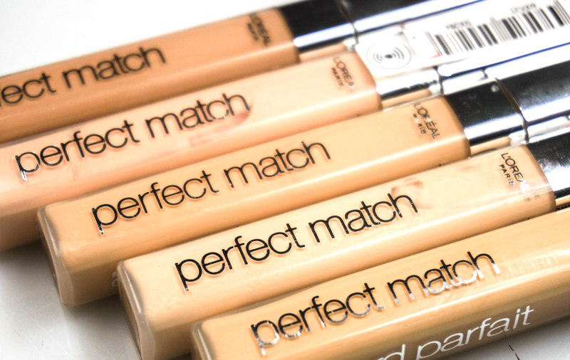 L´oreal Perfect Match Minerals Puder & Brush & Concealer - Highendlove