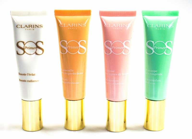 CLARINS Sping Makeup Collection Primer & Palette 4 Couleurs & Eclat Minute Baume Embellisseur Lèvres - Highendlove