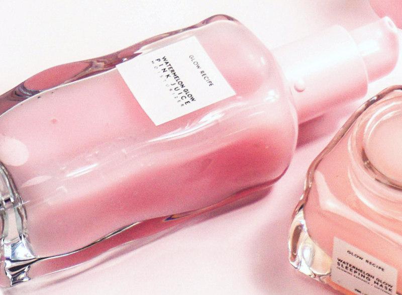 GLOW RECIPE Watermelon Glow Pink Juice Moisturizer & Sleeping Mask - Highendlove