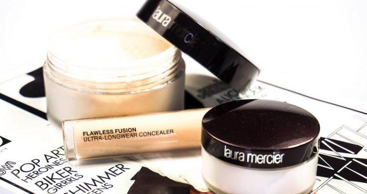 LAURA MERCIER Flawless Fusion Concealer & Translucent Loose Setting Powder - Highendlove