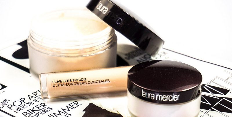 LAURA MERCIER Flawless Fusion Concealer & Translucent Loose Setting Powder - Highendlove