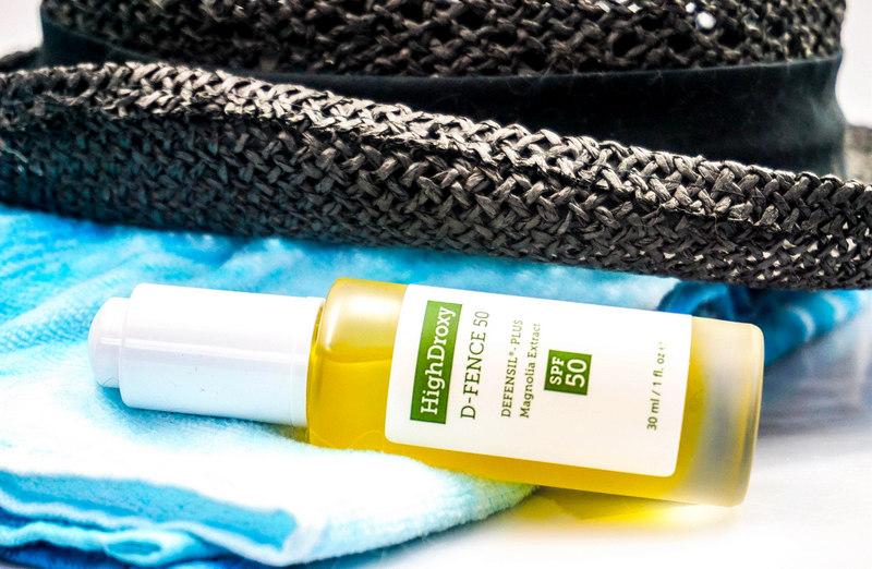 HIGHDROXY D-FENCE 50 Pflege-Booster mit Antioxidantien und LSF 50 - Highendlove