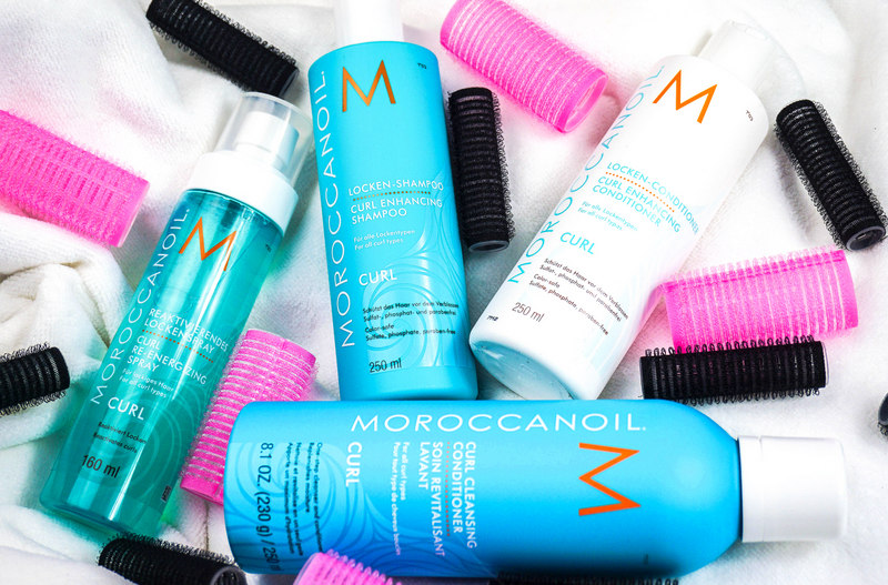 MOROCCANOIL Curl Shampoo & Conditioner & Spray