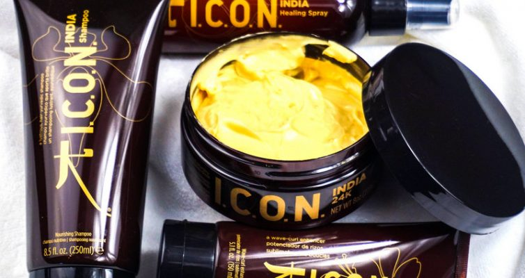 ICON India Shampoo & Curl Creme & Healing Spray & 24K Conditioning Masque - Highendlove