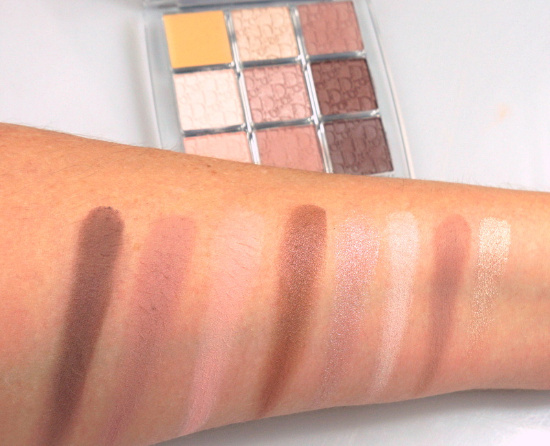 DIOR Backstage Kollektion Swatches- Highendlove