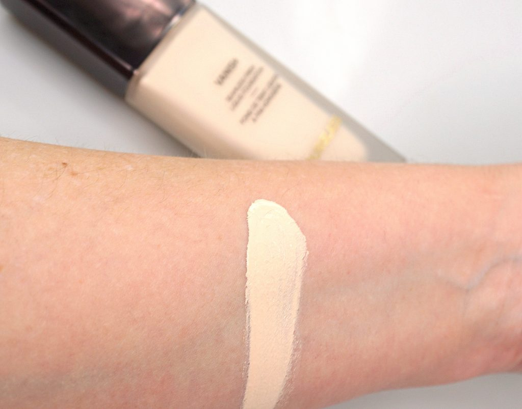 HOURGLASS Vanish Seamless Finish Liquid Foundation Swatches - Highendlove
