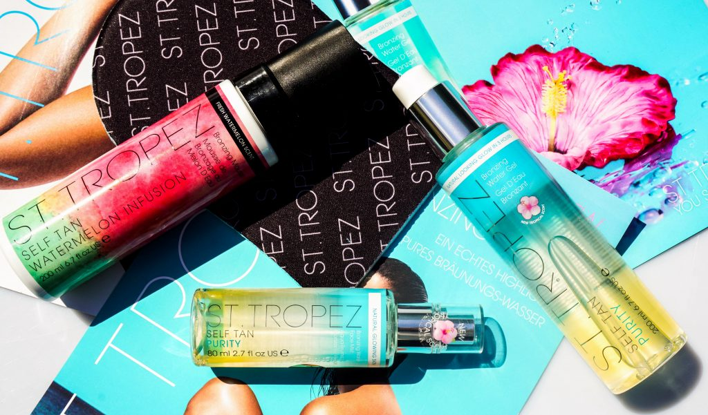 ST. TROPEZ Watermelon Infusion & Purity & Bronzing Water Gel Self Tan - Highendlove
