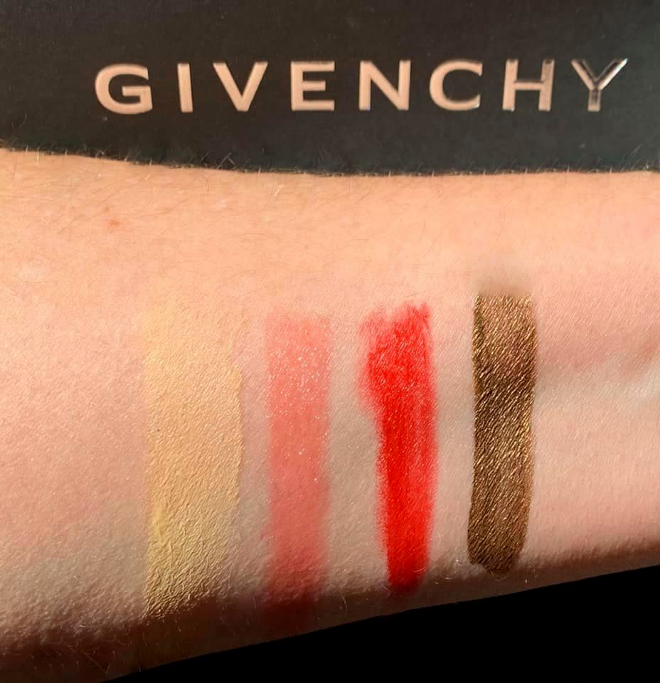 Givenchy Swatches - Highendlove