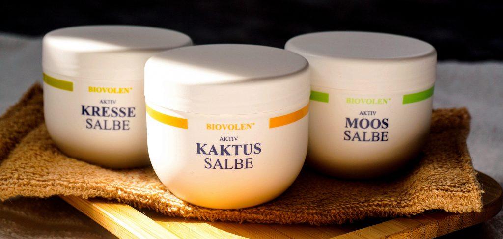 BIOVOLEN Kaktus & Kresse & Moos Salbe - Highendlove